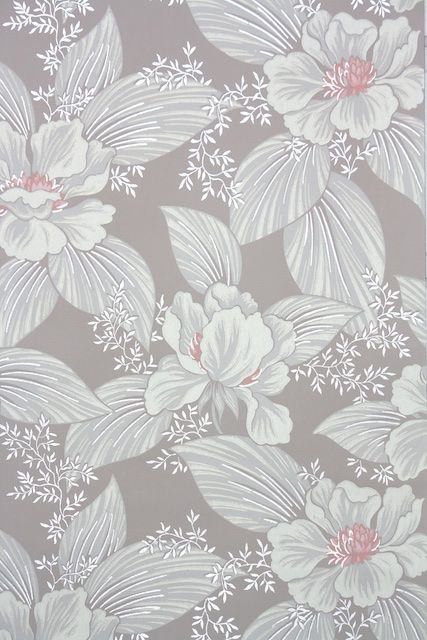 It Is A New Approach To Wall Decoration An Expression Of Trends And Suggestive Settings Boasting A Uniqu Vintage Floral Wallpapers Wallpaper Floral Wallpaper