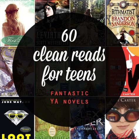 clean young adult books & series for your teens - It's Always Autumn Great list of clean reads for teens. Fantastic, clean young adult novels your teenagers will love. Christmas gift ideas for teens. Funny Books For Teens, Books For Tweens, Books For Boys, Ya Books, Library Books, Book Club Books, Book Lists, Good Books, Teen Library