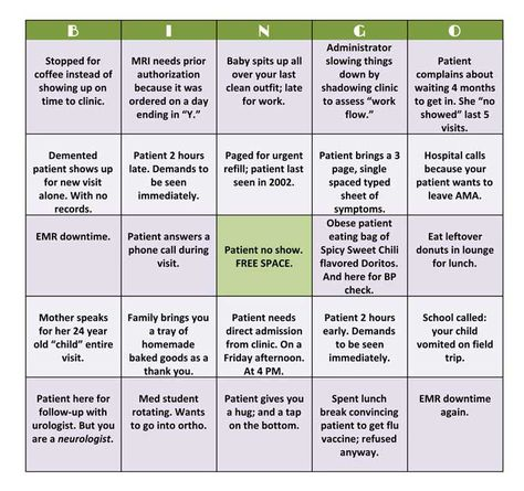 Hospitalist ICU Bingo Card See the other nurse ICU bingo card too - medicaid prior authorization form