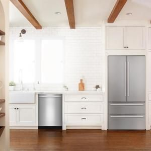 Bosch 800 Series Top Control Tall Tub Bar Handle Dishwasher In Stainless Steel With Stainless Steel Tub And 3rd Rack 39dba Shxm98w75n The Home Depot Steel Tub Built In Dishwasher Top