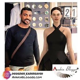 3d Fashion Designer Karim Sayed Egypt Illustrator In 2020 Philippines Fashion Katies Fashion Los Angeles Fashion Week