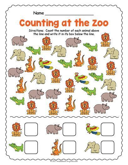 Free Zoo Worksheets For Preschool And Kindergarten The Measured Mom Zoo Preschool Preschool Zoo Theme Zoo Activities