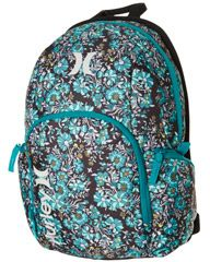 fdc2e2419 HURLEY COMPACT BACKPACK - FLOWER TRAP BLACK