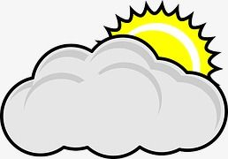 Cloudy Cartoon Icon Cartoon Icons Sun Clip Art Cartoon Clouds