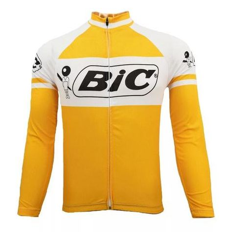 This best-selling replica shirt of the famous Bic cycling team has found  favor with dedicated. 6daea7683
