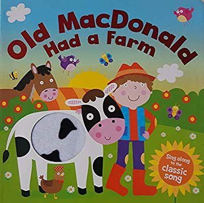 Old Mac Donald Had A Farm Touch And Feel Igloo Books 9781788100892 Amazon Com Books Touch And Feel Book Farm Animals Activities Igloo Books