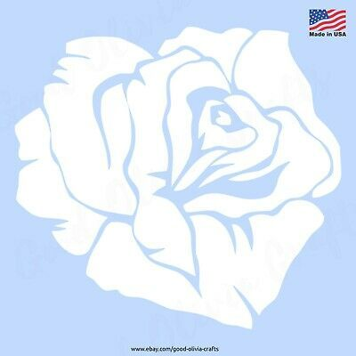 ROSE PETALS DIY SPRAY /& PAINT Reusable Stencil Clear Template