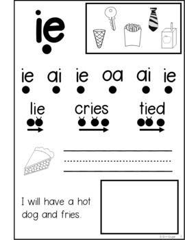 Phonics Notebook Bundle: Letters, Blends, Vowel Teams
