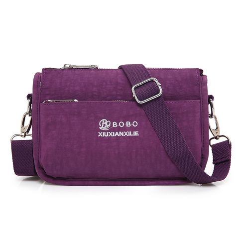 8ffbbdd48179 Waterproof Nylon Women Messenger Bags Small Purse Shoulder Bag Female  Crossbody Bags Handbags Bolsa Tote Casual Clutch Review
