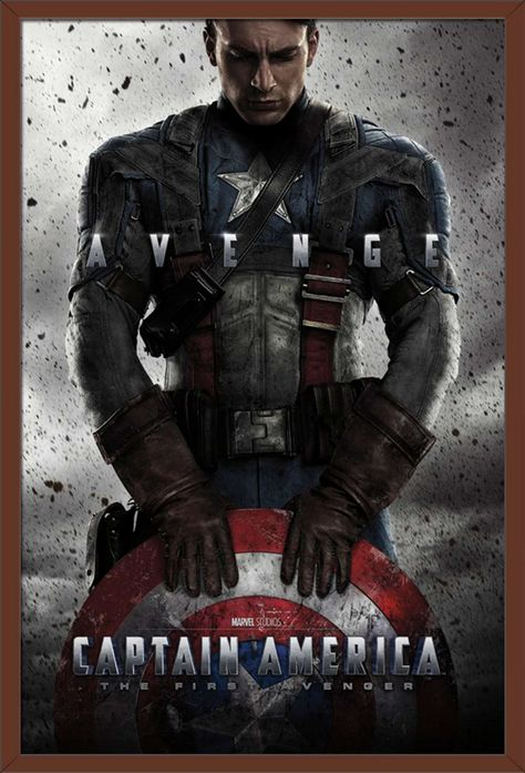 MCU - Captain America: The First Avenger - One Sheet Poster