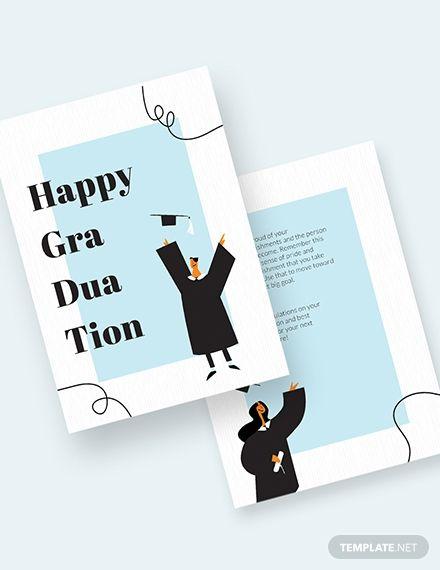 Happy Graduation Card Template Ad Ad Graduation Happy Template Card In 2020 Graduation Card Templates Happy Graduation Graduation Cards