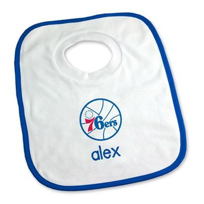 8 best philadelphia 76ers baby gift images on pinterest keep your future nba star clean with our personalized philadelphia bib young fans will love to wear their philadelphia pullover bib negle Image collections