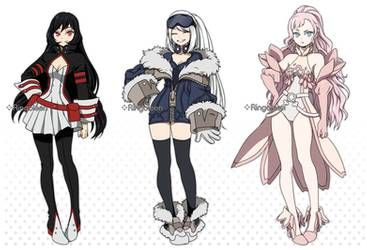 Cm 50 51 52 Bnha Custom Designs By Ringoleen Hero Costumes Character Art Character Design