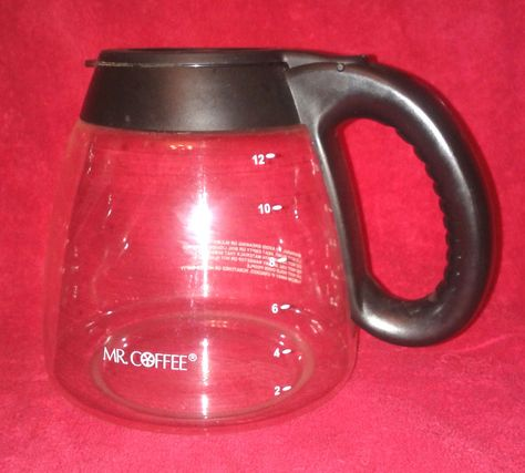 Mr Coffee Replacement Decanter Black Pot 12 Cup Gl Mrcoffee