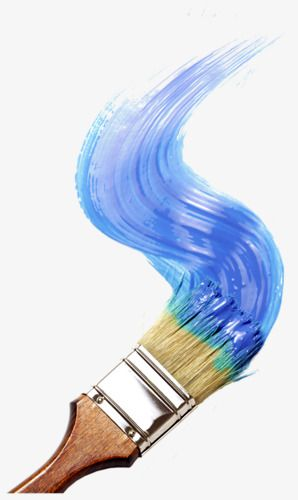 Paintbrush Paint Blue Hand Painted Png Transparent Clipart Image And Psd File For Free Download Paint Brush Art Paint Brushes Painting Logo