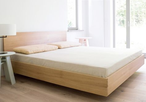 Lisandro Wood Bed Frame Solid Oak Wood In 2020 Bed Frame