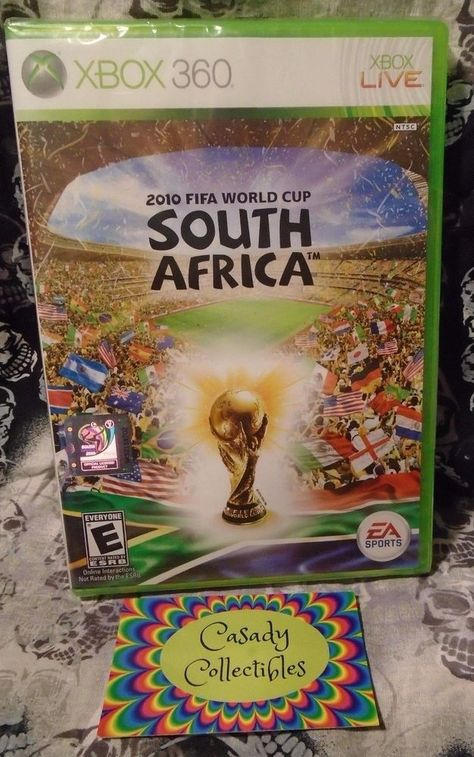 2010 Fifa World Cup South Africa Microsoft Xbox 360 2010 Fifa World Cup Xbox 360 Fifa