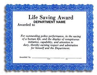 Pin By Bertha Aday On Award Certificate Template Awards Certificates Template Saving Lives