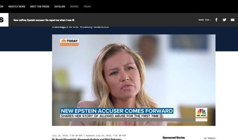 Epstein accuser Jennifer Araoz says she was 15 when 'he forcibly raped me'