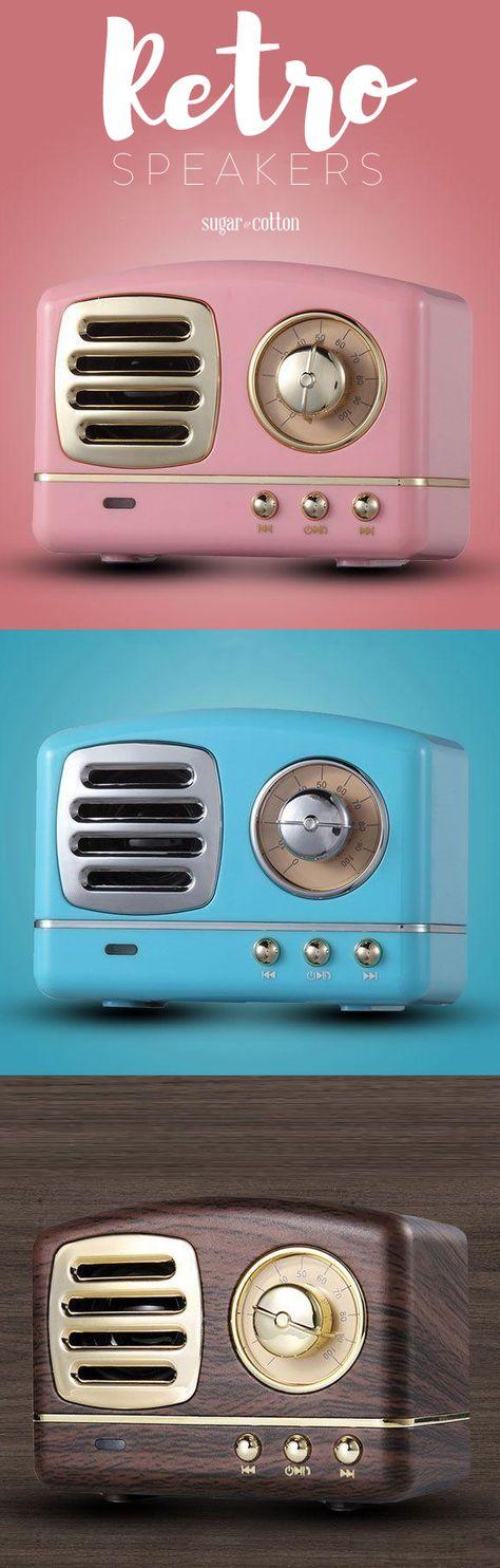 50s Retro Bluetooth Speakers ★★★★★ (5/5)
