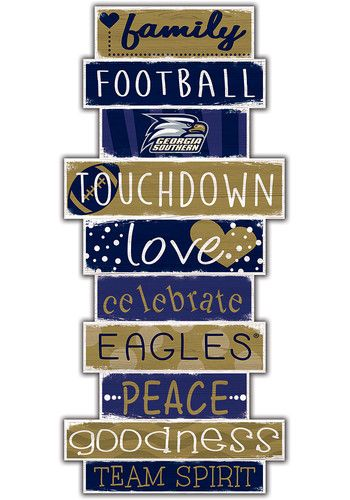 Georgia Southern Eagles Celebrations Stack 24 Inch Sign 32621053