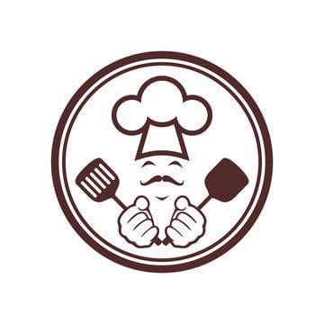 المثال التوضيحي مفهوم التوقيع الغذاء شيف كوك مطبخ الطبخ ناقلات تصميم رمز القائمة مطعم مخبز رمز مقهى خبز أكل خلاصة ال Chef Logo Logo Restaurant Food Logo Design