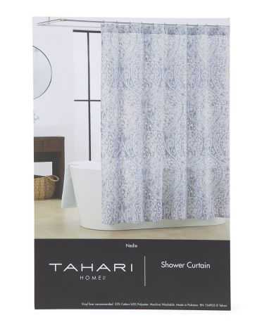 Tj Maxx Image Of Nedie Scroll Shower Curtain Gray Gray Shower