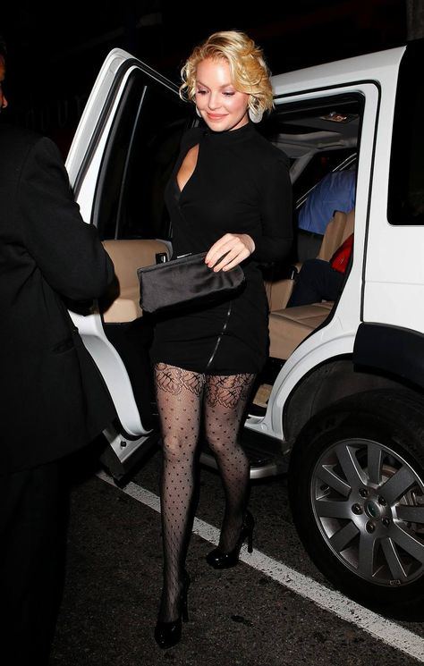 Pantyhose katherine heigl in