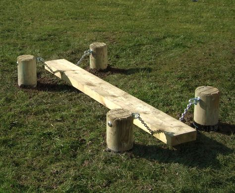Wobble Board wooden agility equipment for schools Caledonia Play UK is part of Backyard for kids - Our wooden wobble board offers a fun element to the playground or can be used as part of an agility trail Great for kids of all ages and abilities Diy Playground, Natural Outdoor Playground, Playground Design, Outdoor Play Spaces, Childrens Outdoor Play Equipment, Childrens Play Area Garden, Outdoor Dog Area, Kids Play Equipment, Outdoor Toys