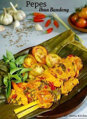 Pepes Ikan Bandeng Di 2020 Resep Masakan Resep Makanan Asia Resep