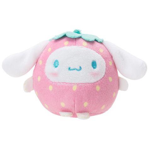 Cinnamoroll Sanrio [New] Stuffed Toy Doll (Strawberry) Last 1 kawai Japan F/S