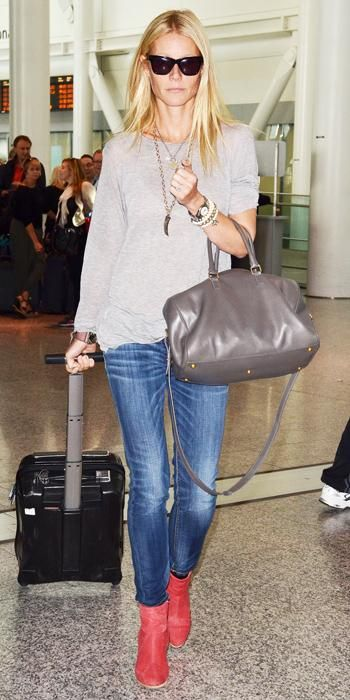 145 Celebrity-Inspired Outfits to Wear on a Plane - Gwyneth Paltrow from #InStyle