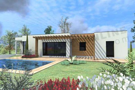 Plan De Maison Boxtobox Forumconstruire Com Plan Maison Terrasse Toit Plat