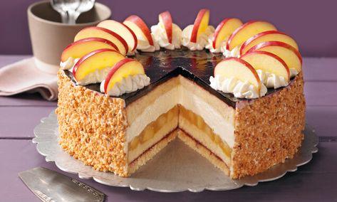 Apfel-Holunder-Torte Rezept | Dr. Oetker