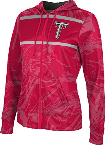 ProSphere Quincy University Girls Pullover Hoodie Grunge School Spirit Sweatshirt