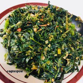 Resep Tumis Daun Pepaya Khas Manado Oleh Agnespow Resep Makan Siang Sehat Makanan Sehat Resep Makanan Cina