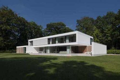 Rénovation en maison contemporaine par HS Residence – Bruges ...