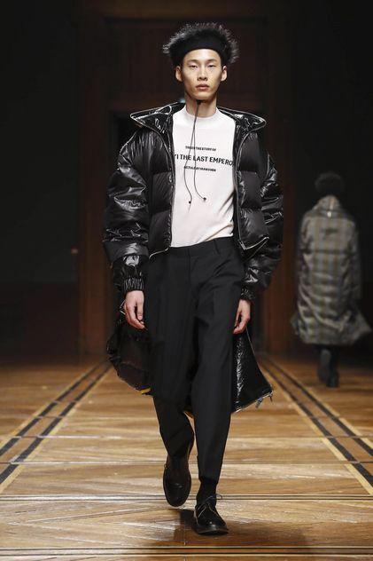 Sean Suen Menswear Fall Winter 2018 Paris