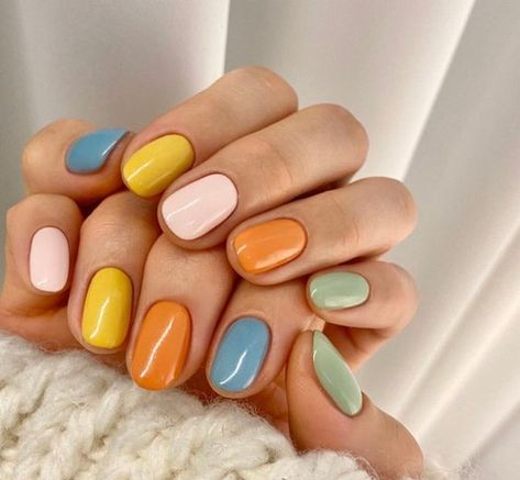 Minimalist Nails, Do It Yourself Nails, How To Do Nails, Cute Nails, Pretty Nails, Hair And Nails, My Nails, Nail Manicure, Nail Polish