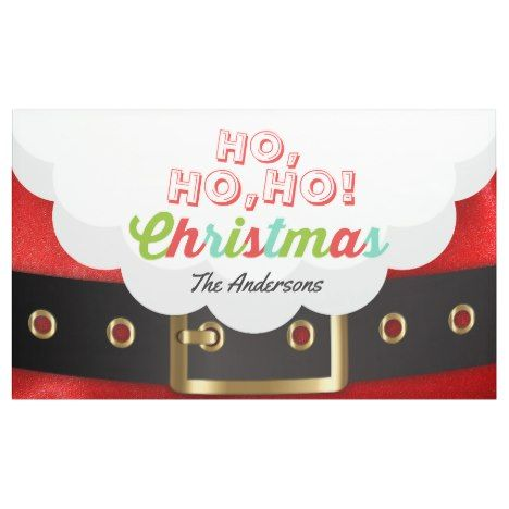 santa claus suit ho ho ho christmas happy new year banner are you ready for the holiday season partyideas partyinvitations partysupply giftsforher