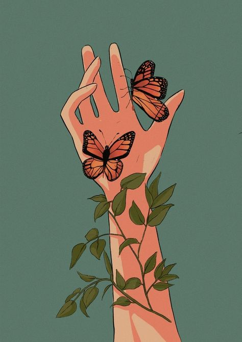 "INPRNT on Tumblr — ""Bugs (inktober 2020)"" by Maria Teresa on INPRNT"