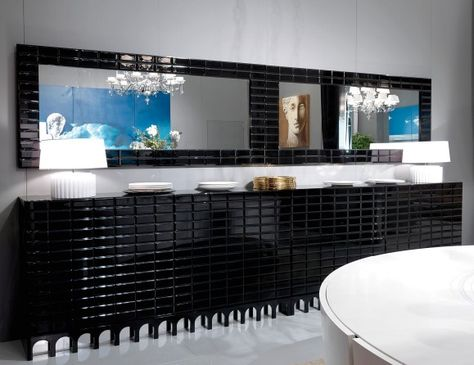 Credenza Para La Sala : Nella vetrina visionnaire ipe cavalli coliseum luxury italian
