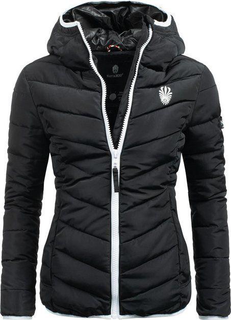 Steppjacke »Elva« stylische Damen Winterjacke mit Kapuze