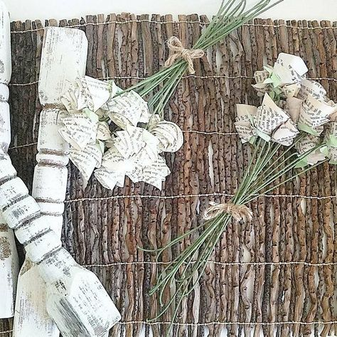 Paper Flowers Book Page Dozen Ivory Flower Bouquets Wedding Etsy Ivory Flowers Paper Flowers Flowers Bouquet