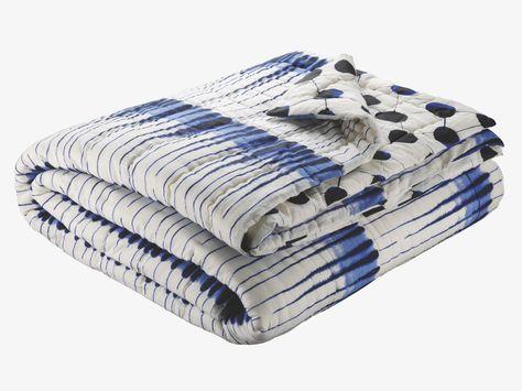 Part Of Habitat Uk Bed Set See Below Blot Blue And White