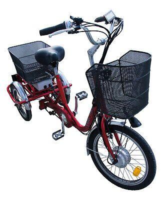 Velo Trike 21e Elektro Dreirad Allrounder 3 Rad Komfortrad Neuheit Ebay Dreirad Elektrofahrrad Pedelec