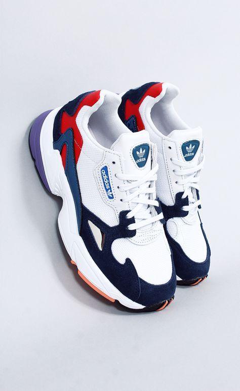 8fae20da0f tênis adidas falcon w46 colorido - this is FASHION babe   FASHION FORWARD in  2019   Shoes, Sneakers, Sneakers fashion