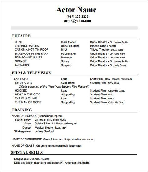 Resume Template Pages 2015 -   wwwjobresumewebsite/resume