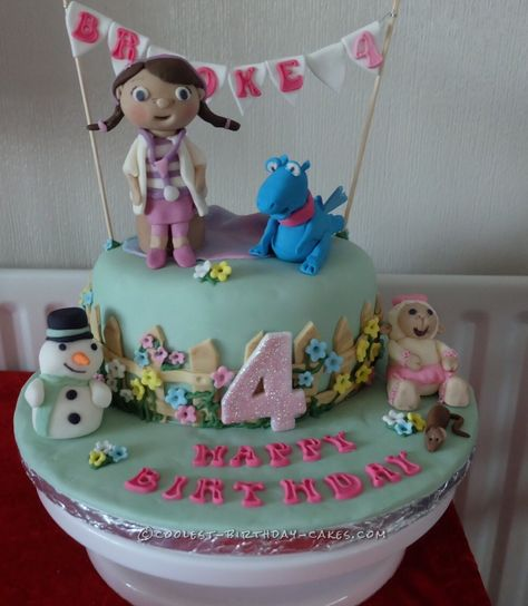 Coolest Doc McStuffins Cake for My Granddaughter... Coolest Birthday Cake Ideas