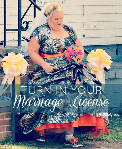 Turn In Your Marriage License 2 - Wedding and Photography fails - Politilady